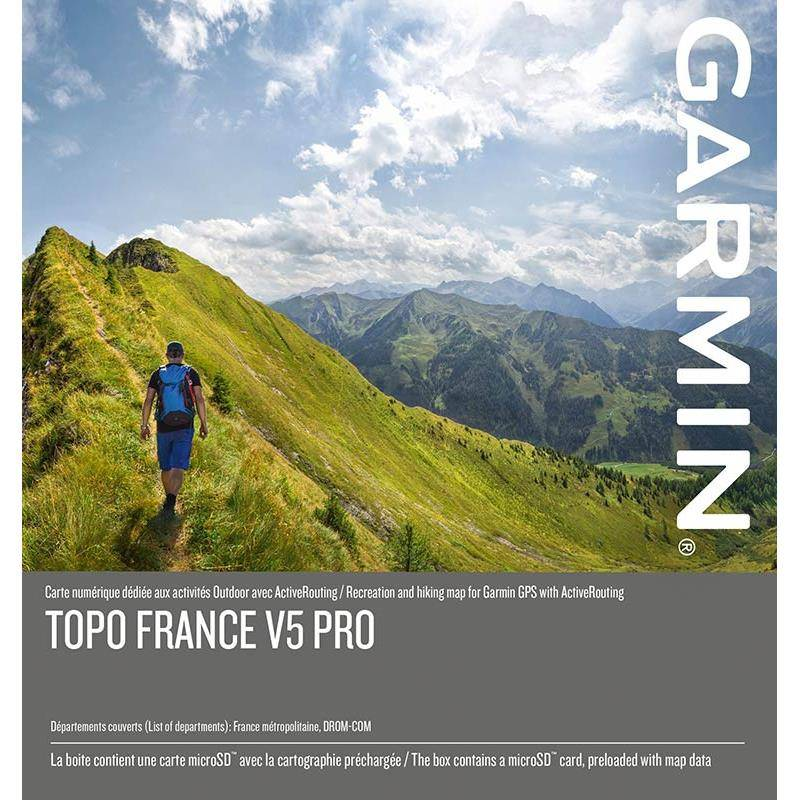 Carte Topo Garmin France V5 Pro
