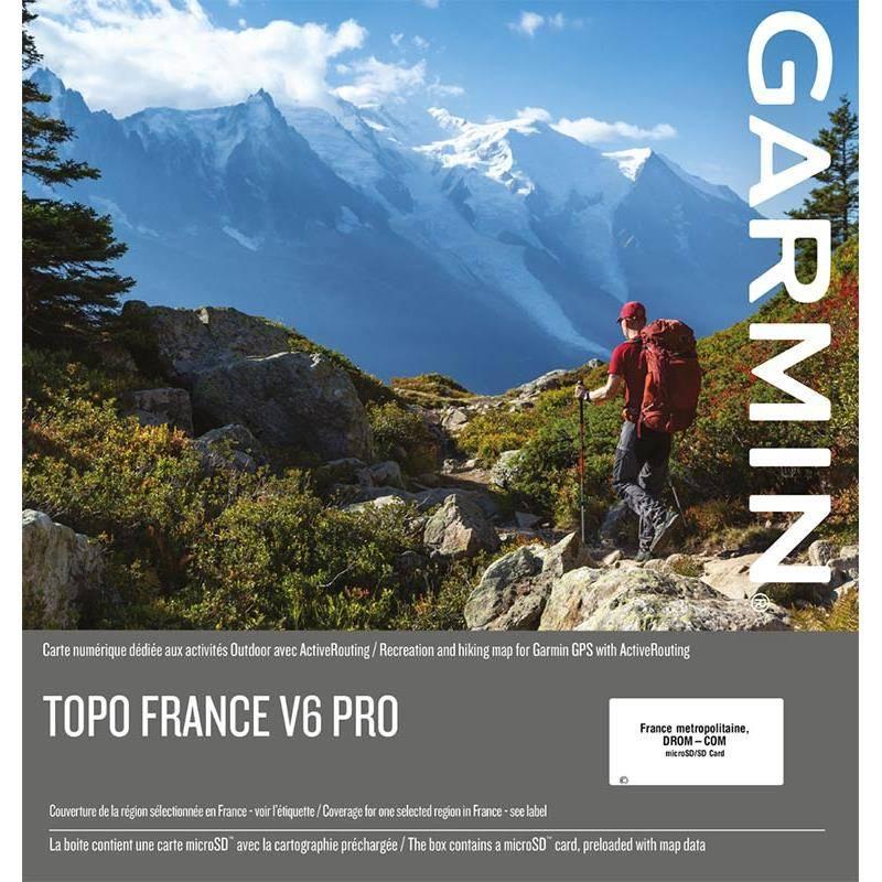 Carte Topo Garmin France V6 Pro
