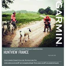 Carte topo garmin huntview france