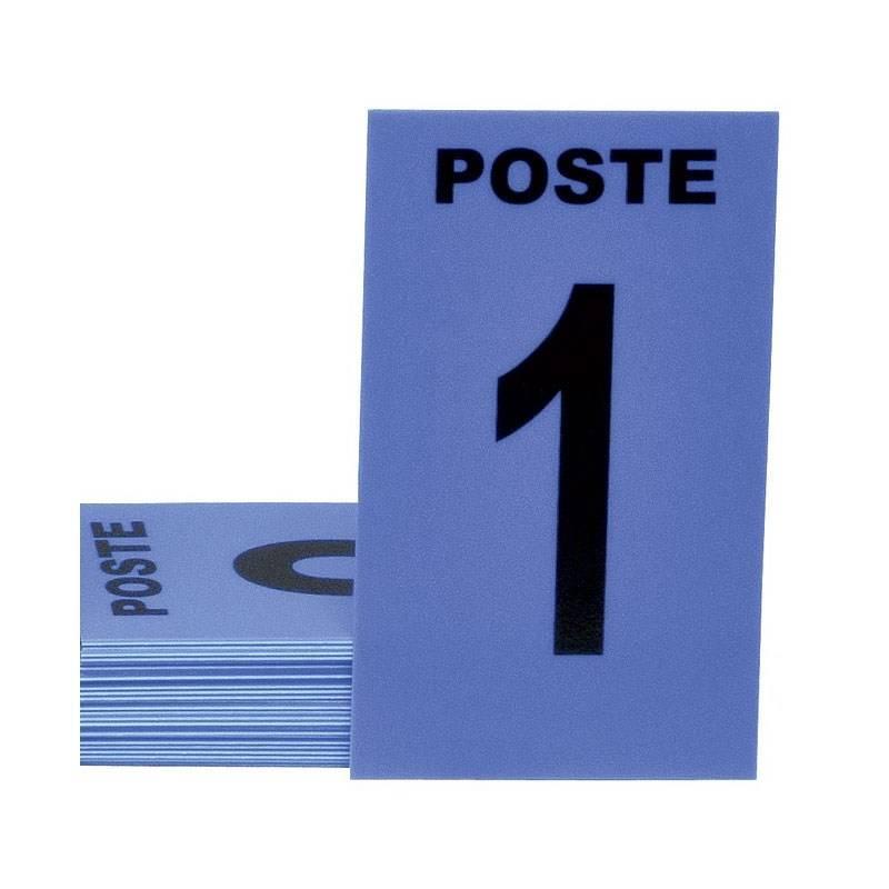 Cartes De Poste Januel Bleu - Par 24