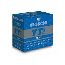 Cartouche ball trap fiocchi tt two skeet - 24g - calibre 12/70