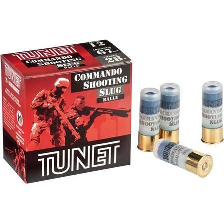 Cartouche Ball Trap Tunet Commando Shooting Pack - 28G - Calibre 12