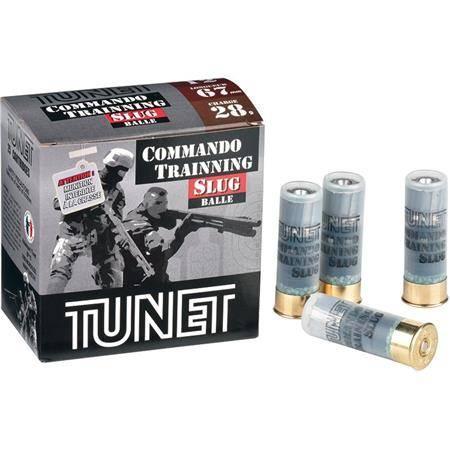 Cartouche Ball Trap Tunet Commando Training Pack - 28G - Calibre 12