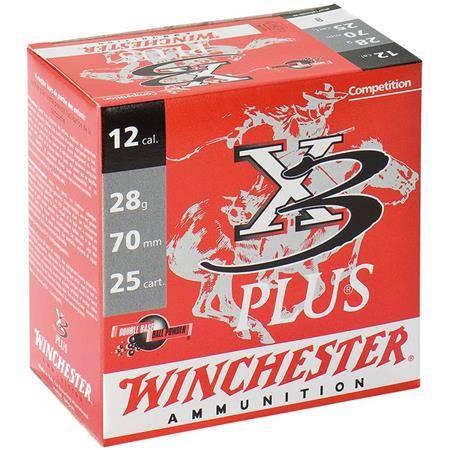 Cartouche Ball Trap Winchester X3 Plus - 32G - Calibre 12/70