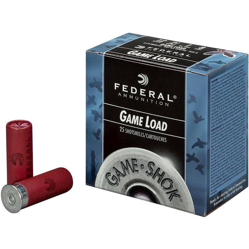 Cartouche De Chasse Federal Game Shok Upland - 32G - Calibre 12