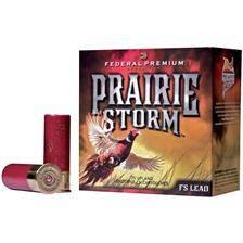 Cartouche de chasse federal premium prairie storm fs - 36g - calibre 12
