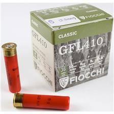 Cartouche de chasse fiocchi gfl 410 - 9g - calibre 12 mm