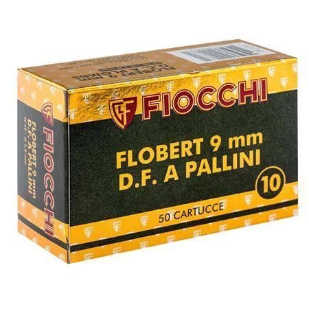 Cartouche De Chasse Fiocchi Grenaille De Plomb - Calibre 9Mm Flobert