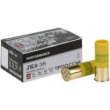 Cartouche de chasse fiocchi jk6 - 38g - calibre 12