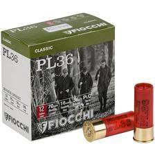 Cartouche de chasse fiocchi pl 36 - 36g - calibre 12/70
