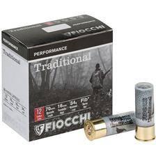 Cartouche de chasse fiocchi traditional - 34g - calibre 12