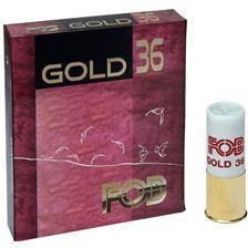 Cartouche de chasse fob gold 36 - 36g - calibre 12