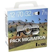 Cartouche de chasse fob special pack migration - 32g - calibre 12
