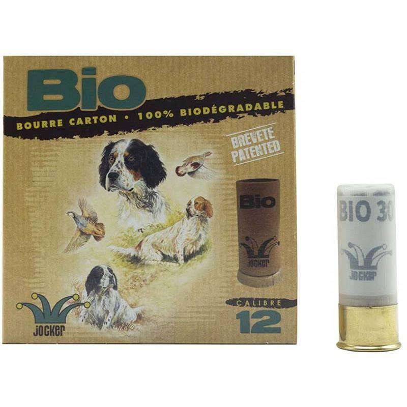 Cartouche De Chasse Jocker Bio 30 Sologne - 30G - Calibre 12
