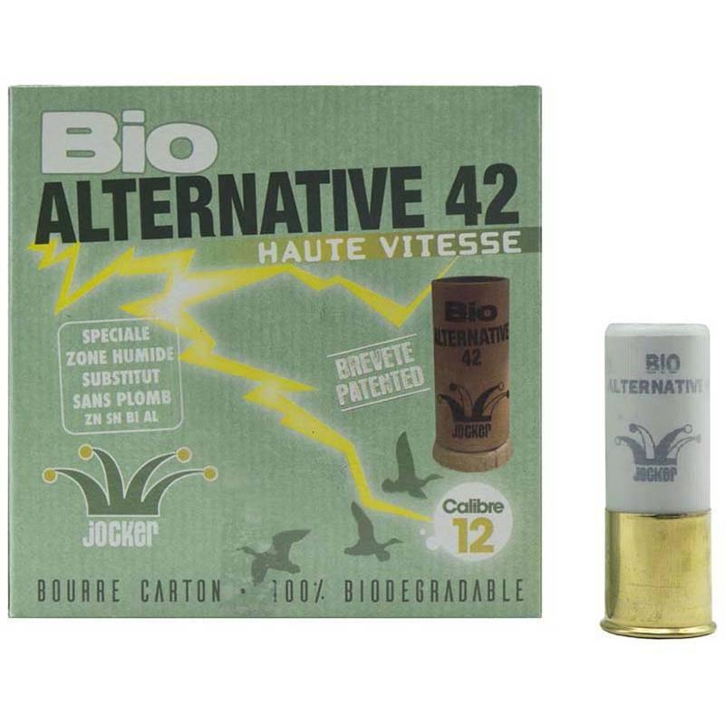 Cartouche De Chasse Jocker Bio Alternative 42 - 32G - Calibre 12