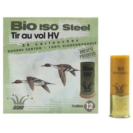 Cartouche De Chasse Jocker Bio Iso Steel 50 Tir Au Vol Hv - 35G - Calibre 12