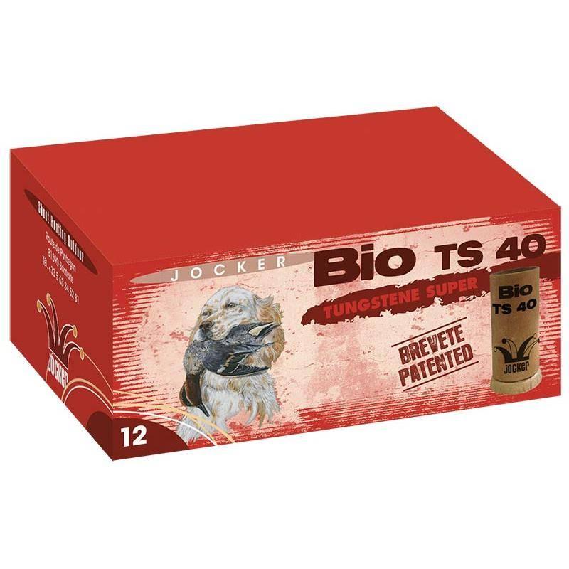 Cartouche De Chasse Jocker Bio Ts 40 - 40G - Calibre 12