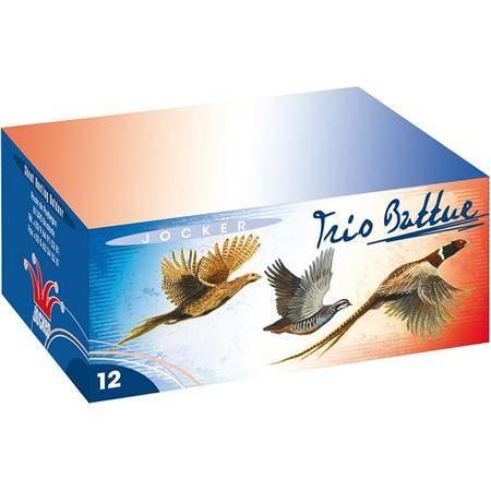 CARTOUCHE DE CHASSE JOCKER TRIO BATTUE 33 - 33G - CALIBRE 12