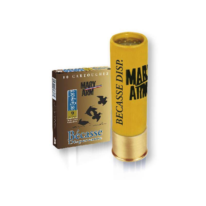 Cartouche De Chasse Mary Arm Becasse Dispersante - 30G - Calibre 20