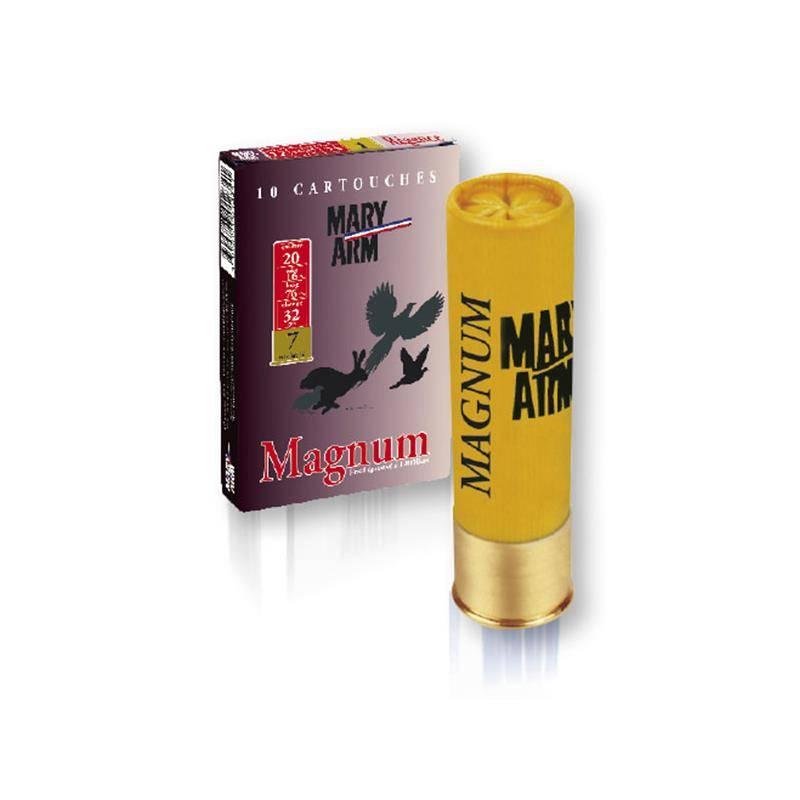 Cartouche De Chasse Mary Arm Magnum - 32G - Calibre 20