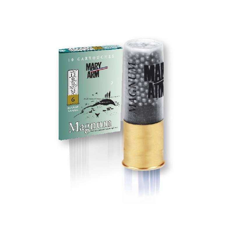 Cartouche De Chasse Mary Arm Magnum 52 - 52G - Calibre 12
