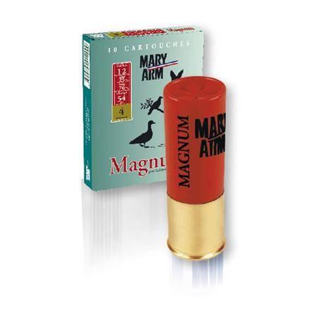CARTOUCHE DE CHASSE MARY ARM MAGNUM 54 - 54G - CALIBRE 12