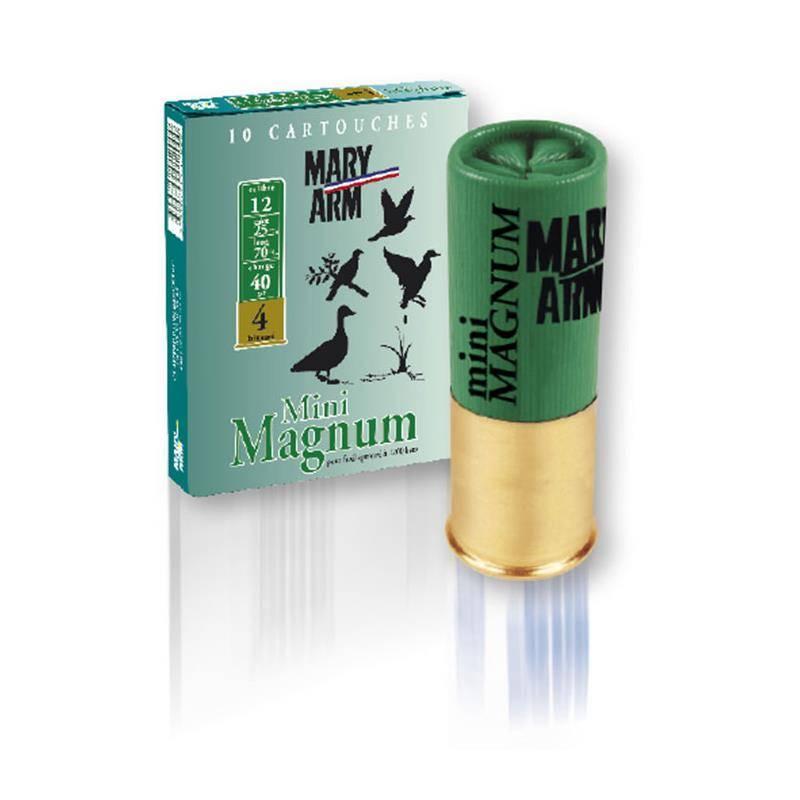Cartouche De Chasse Mary Arm Mini Magnum - 40G - Calibre 12
