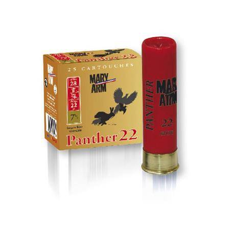 Cartouche De Chasse Mary Arm Panther 22 - 22G - Calibre 28