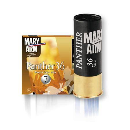 Cartouche De Chasse Mary Arm Panther 36 - 36G - Calibre 12