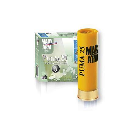 Cartouche De Chasse Mary Arm Puma 25 - 25G - Calibre 20