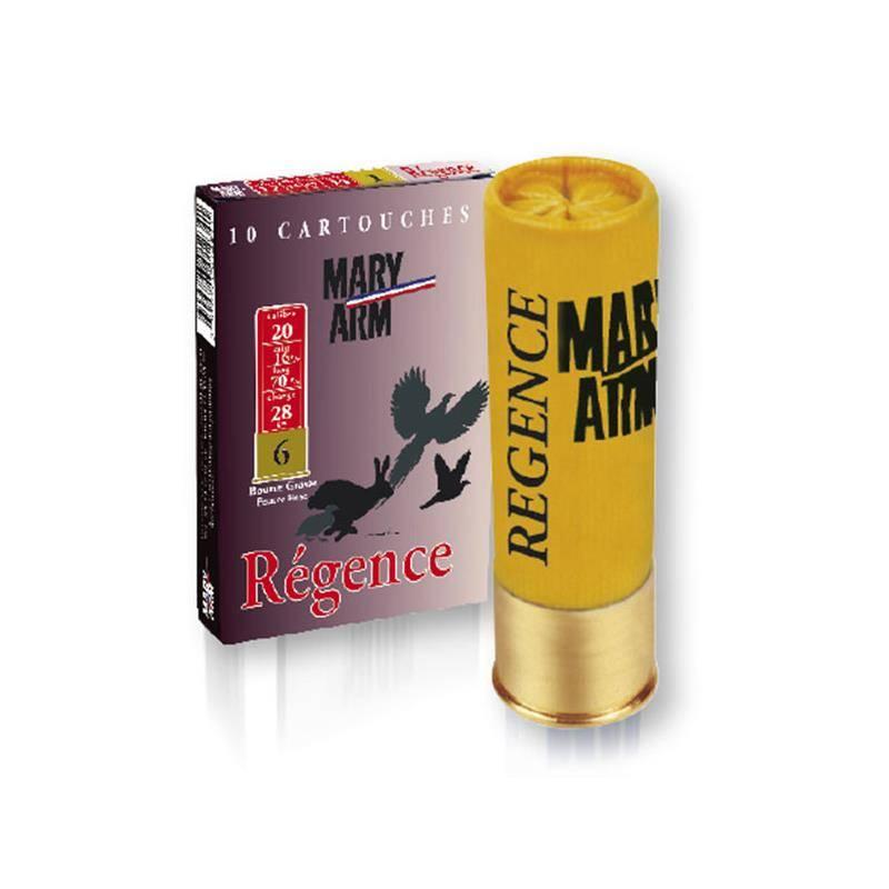 Cartouche De Chasse Mary Arm Regence - 28G - Calibre 20