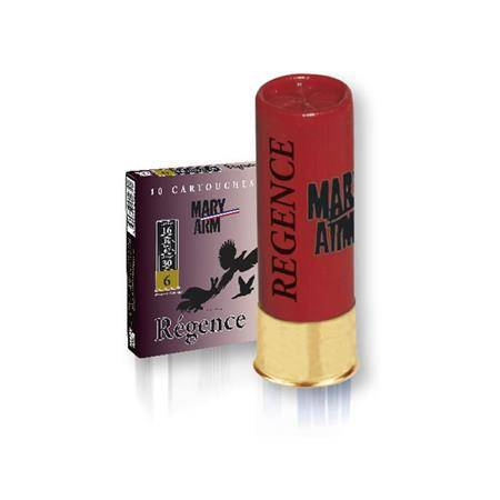 CARTOUCHE DE CHASSE MARY ARM REGENCE - 30G - CALIBRE 16