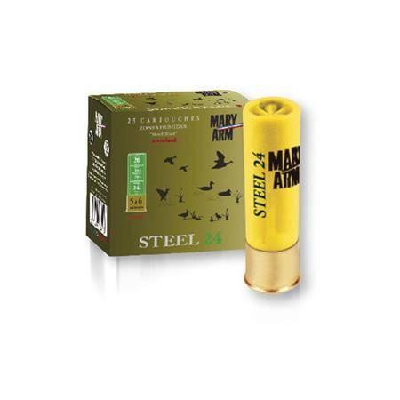 Cartouche De Chasse Mary Arm Steel 24 - 24G - Calibre 20
