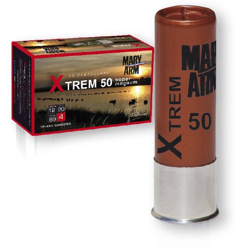 Cartouche De Chasse Mary Arm Xtrem 50 Super Magnum - 50G - Calibre 12