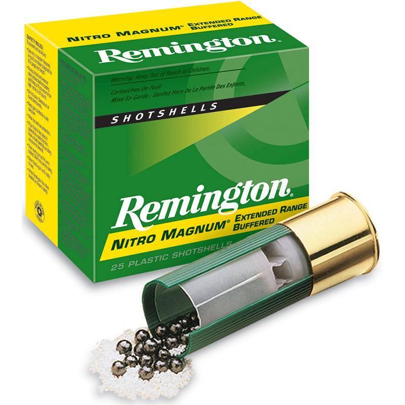 Cartouche De Chasse Remington Nitro Magnum - 53G - Calibre 12/76