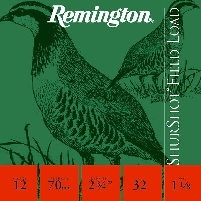 Cartouche De Chasse Remington Shurtshot Jupe - 32G - Calibre 12