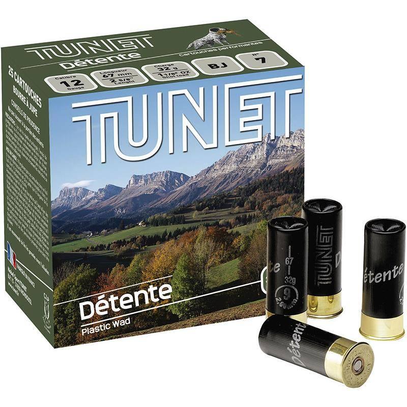 Cartouche De Chasse Tunet Detente - 32G - Calibre 12