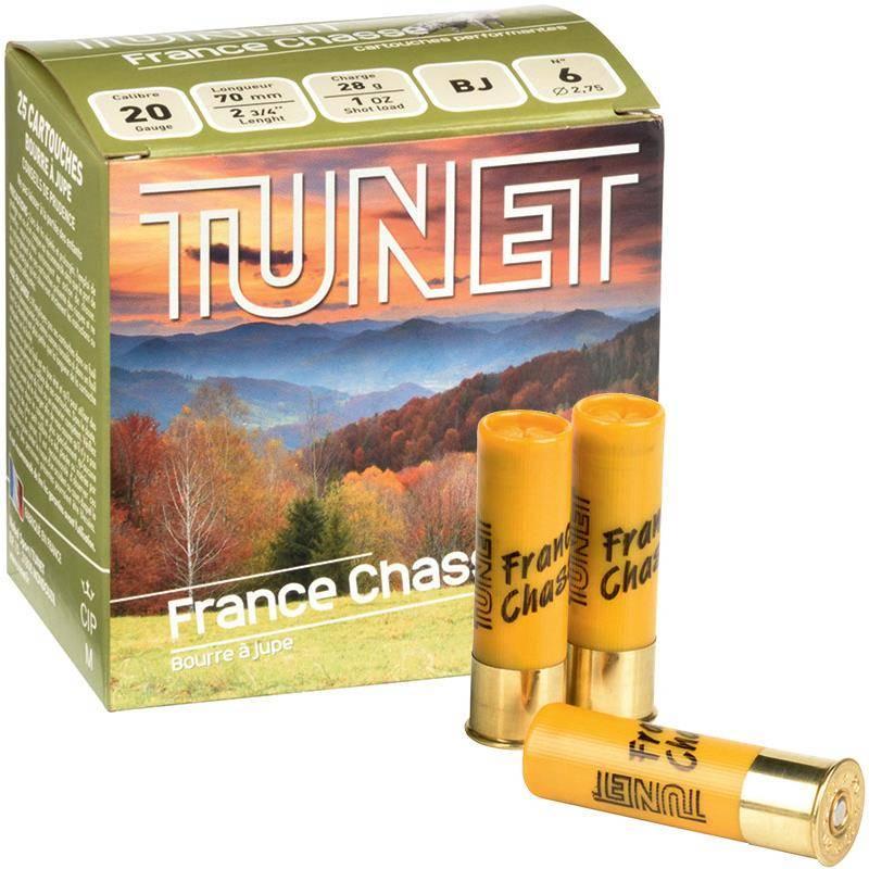 Cartouche De Chasse Tunet France Chasse - 28G - Calibre 20