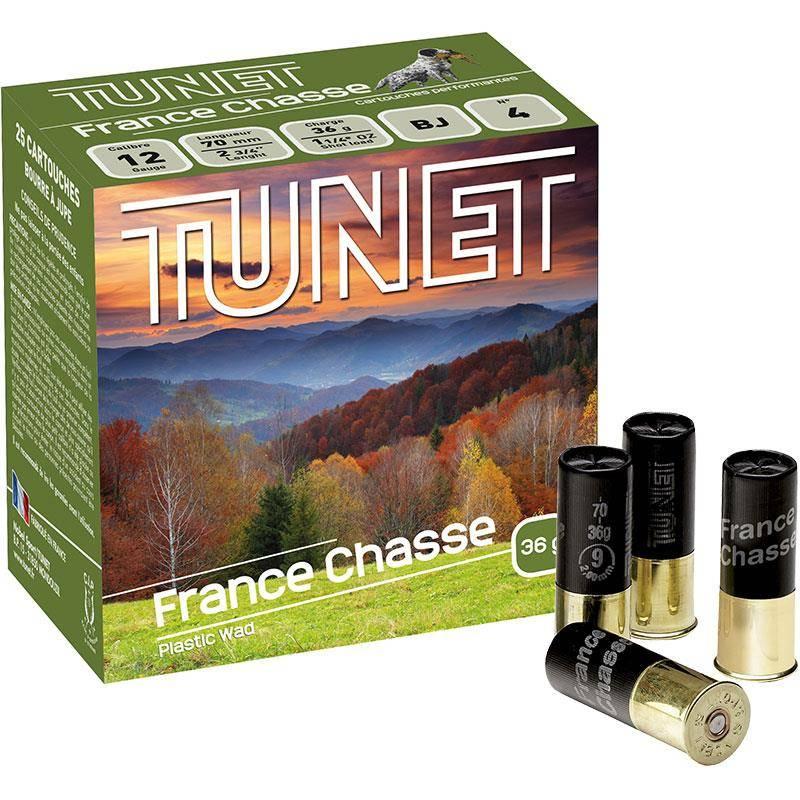 Cartouche De Chasse Tunet France Chasse - 36G - Calibre 12