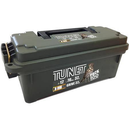 Cartouche De Chasse Tunet Grive Pack Boite Plastique - 32G - Calibre 12