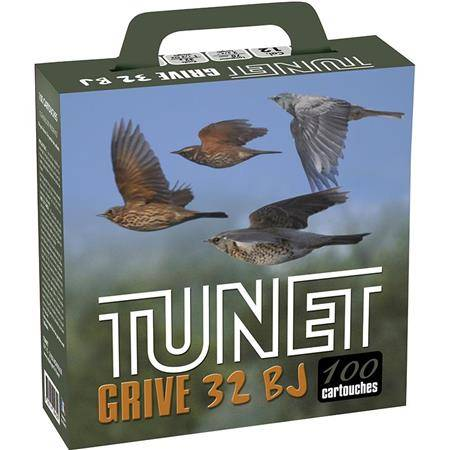 Cartouche De Chasse Tunet Grive Pack Carton - 32G - Calibre 12