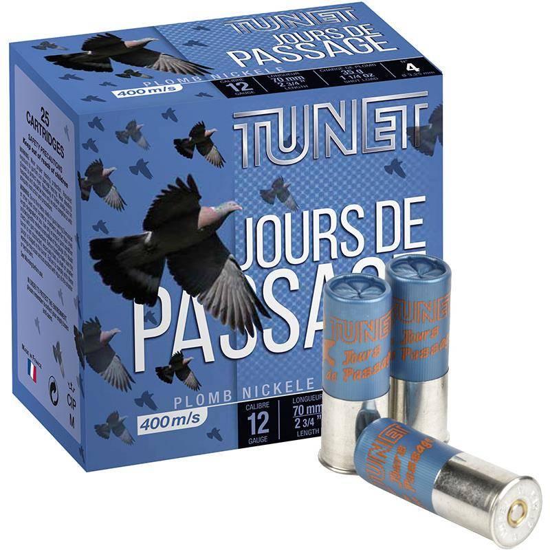 Cartouche De Chasse Tunet Jours De Passage - 35G - Calibre 12