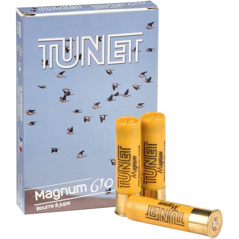 Cartouche De Chasse Tunet Magnum 610 - 34G - Calibre 20