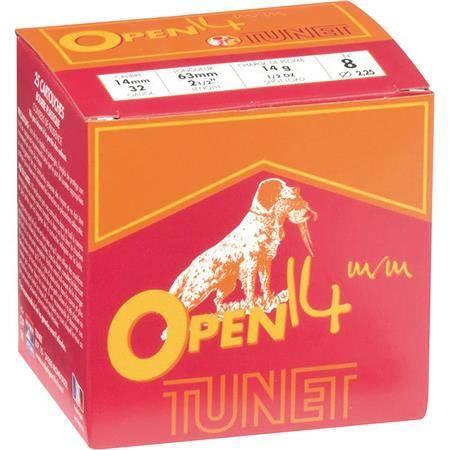 Cartouche De Chasse Tunet Open 14 Mm - 14G - Calibre 14 Mm