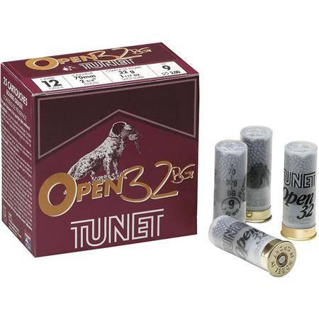 Cartouche De Chasse Tunet Open 32 Bj - 32G - Calibre 12