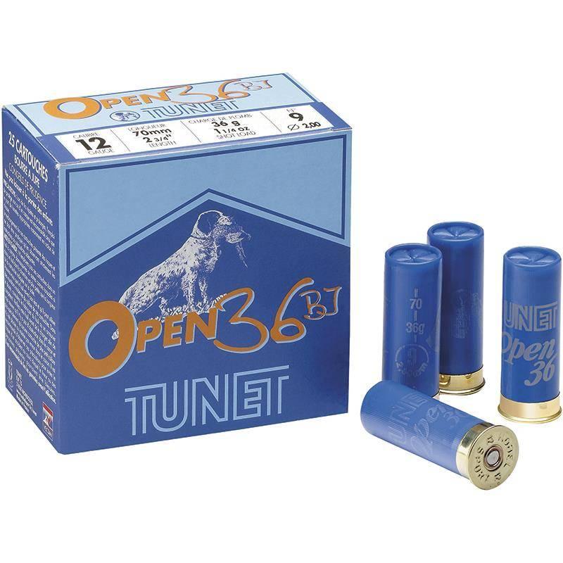 Cartouche De Chasse Tunet Open 36 Bj - 36G - Calibre 12