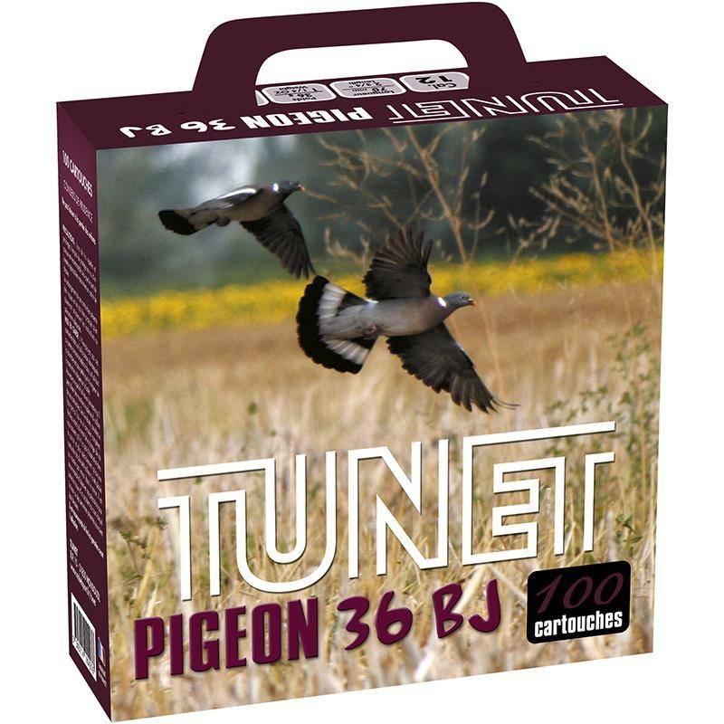 Cartouche De Chasse Tunet Pigeon Pack Carton  - 36G - Calibre 12