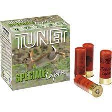 Cartouche de chasse tunet special lapin 33 - 33g - calibre 12