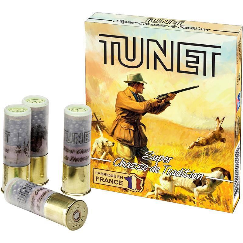 Cartouche De Chasse Tunet Super Tradition - 36G - Calibre 12