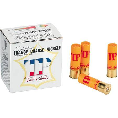 Cartouche De Chasse Tunet Tp France Chasse Nickele - 28G - Calibre 20